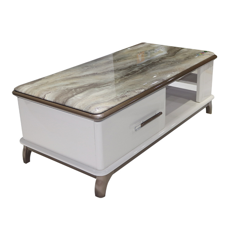 marble top tea table and tv console