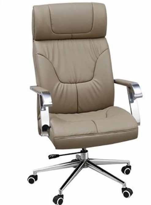 swivel off white office chair high back with arms