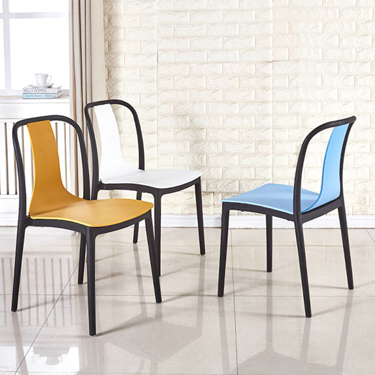 stacking outdoor restaurant plastic pp chair