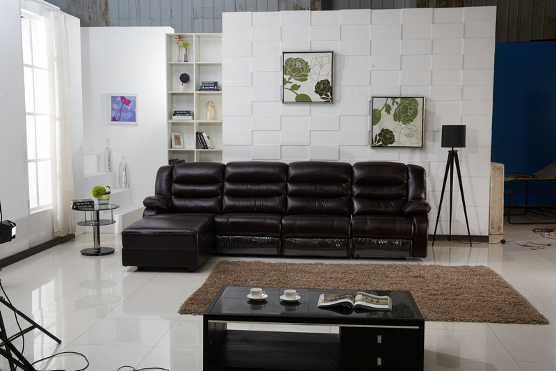 leather sectional reclining sofa wholesale