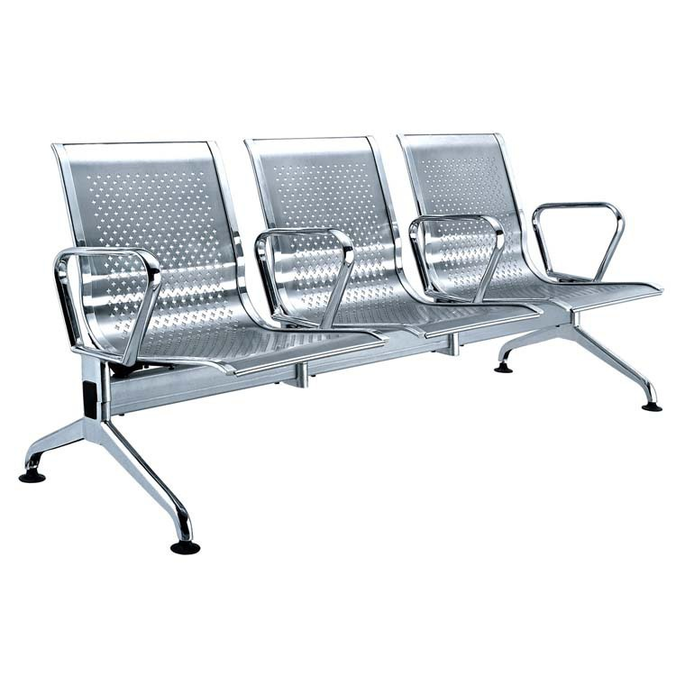 high quality metal public row chairs made in China