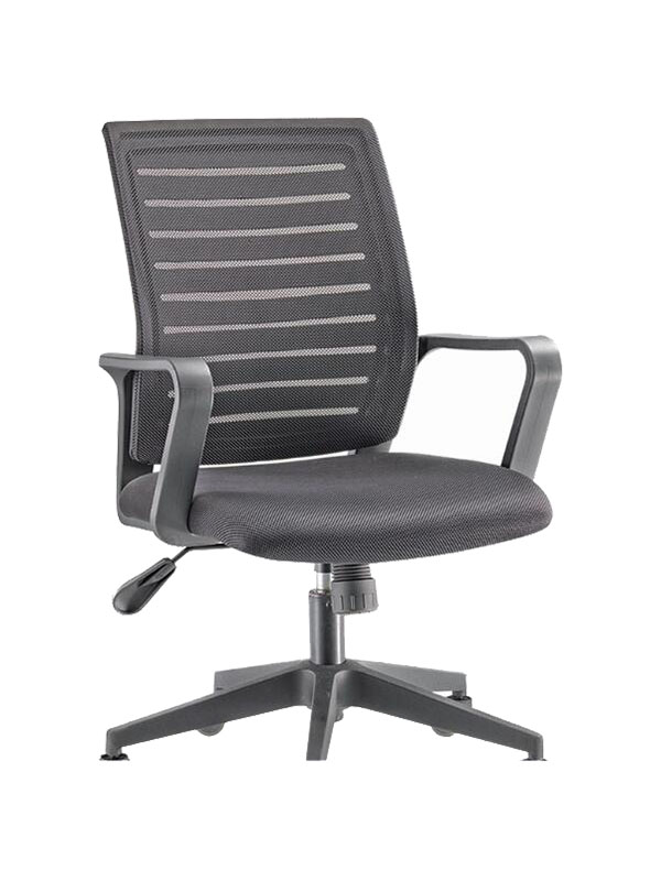 mesh office swivel chairs with arms